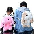 Cute 3D Rabbit Backpacks Kids Toy Backpack Children Kawaii Cartoon Shoulder Bag for Girls LOLITA Cotton Plush Backpacks JXY653