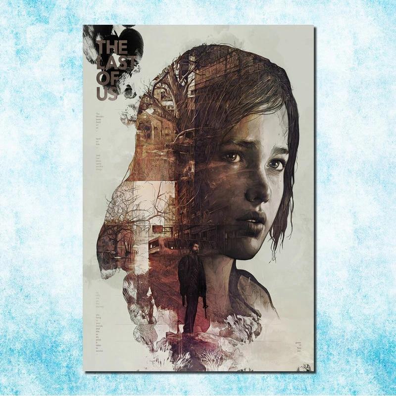 The Last Of Us horror de sobrevivência Zumbi jogo de ação Pôster de Seda 13x20 24x36/'/' J102