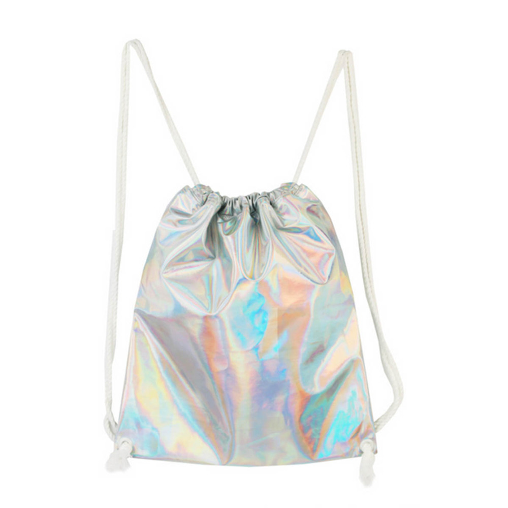 Drawstring Sweet Leisure School Gym Camping Sports Running Laser Symphony Waterproof Outdoor Bachpack City Style Tarvel Bag