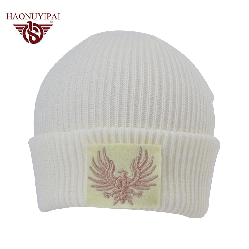 2016 Fashion Winter Custom Service Wholesale Cycling Caps Customizable Hip  Hop Sport Beanies Embroidery Knit Casual Hats CX008-in Skullies & Beanies  from ...