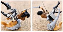4pcs/set Anime Attack on Titan Eren Jaeger Colossal Titan Egg  PVC Action Figures Toys Dolls