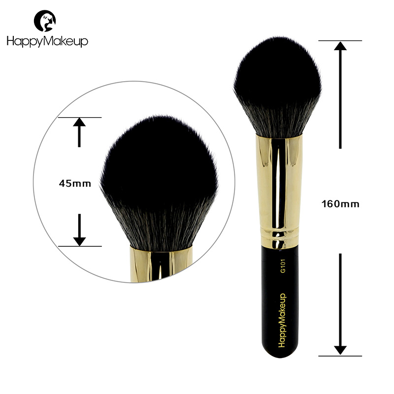 Happy Makeup Brushes blush brush face brushes for powder natural synthetic hair mix high quality professional cosmetic tool G101 jaf 1pcs high quality kabuki brush powder blush brushes large fullfy super soft synthetic hair cosmetics makeup tools 18gky