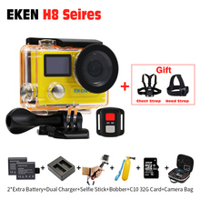 Original Eken H8R + H8 PRO Ultra HD Action Camera with Ambarella A12 4k/30fps 1080p/120fps h8pro H8R 1080p/60fps sport Camera