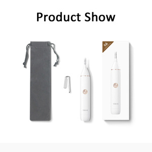 Image 5 - SOOCAS N1 Nose Hair Trimmer Electric Eyebrow Ear Hair Shaver Automatic Razor Men Portable Clipper Removal Safe Blade Washable