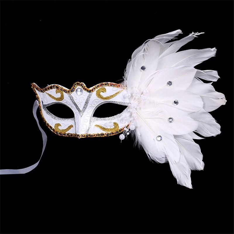 Adulto Brillo eyemask Negro Traje De Vestido De Lujo Máscara Halloween Masquerade Ball