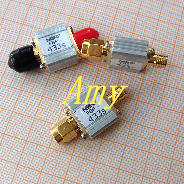 433MHz telecontrol aero pattern aerial band pass filter, 433M, bandwidth 8MHz433MHz telecontrol aero pattern aerial band pass filter, 433M, bandwidth 8MHz