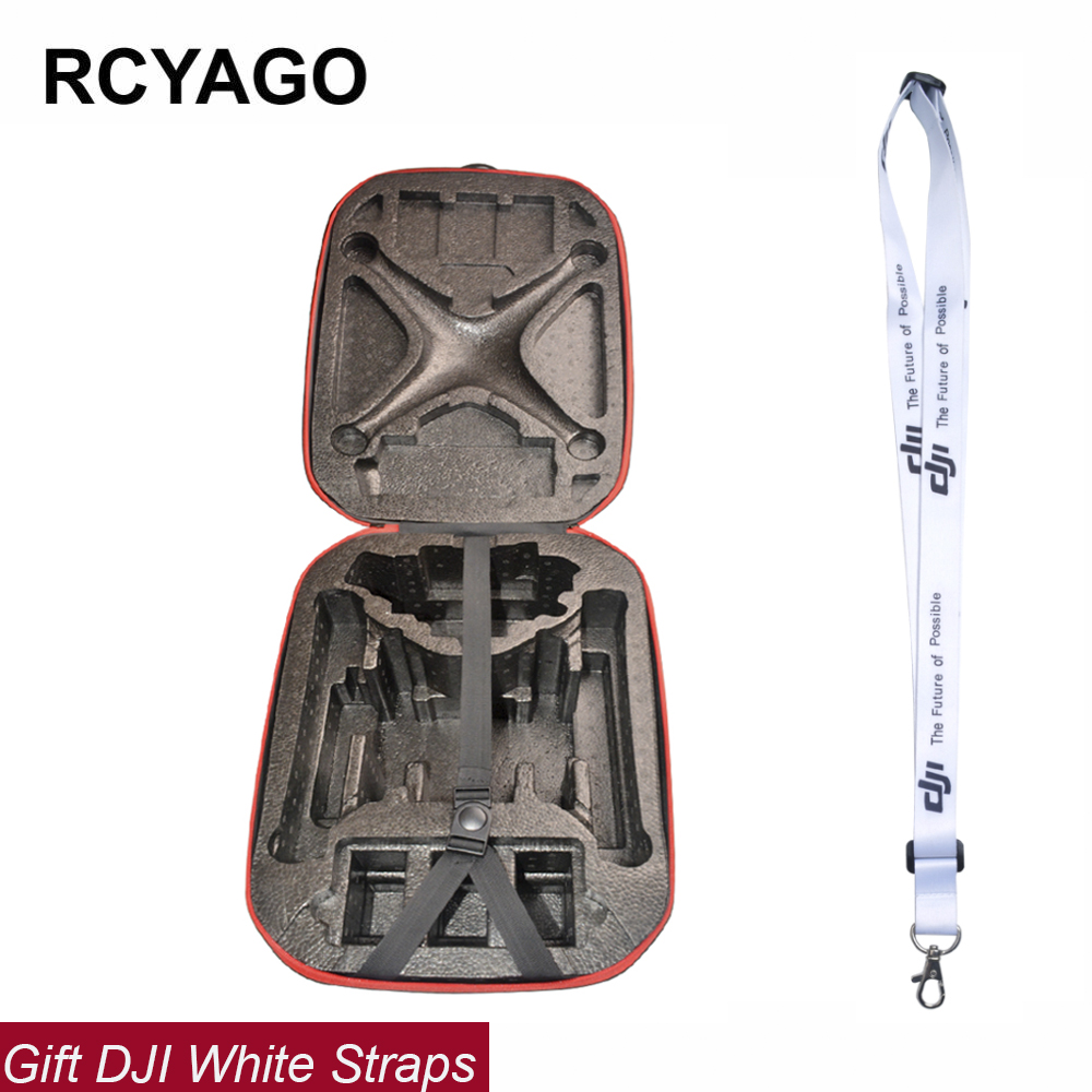 RCYAGO DJI Phantom 3 Backpack HardShell Drone Case Box for DJI phantom 4 Pro/Phantom 3 Professional/Advanced/Stadndard With DJI rc dji mavic pro professional waterproof drone bag hardshell portable case handbag backpack battery charger storage bag
