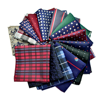 60 Types Men S Pocket Square Upscale Polyester Fashion Handkerchief Towel For Accessories Formal Geometric Hankerchief