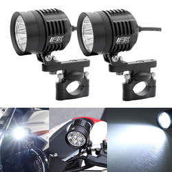 Auxiliary Fog Lights 60W LED Assembly Motocycle For BMW R1200GS ADV F800GS R1100GS Motorbike Safety Driving Lamp