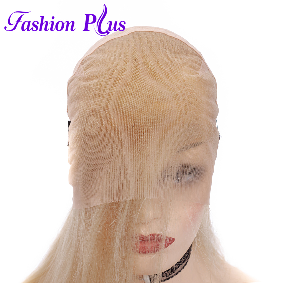 Image 4 - Full Lace Human Hair Wigs Pre Plucked 613 blonde Brazilian Remy Hair Wigs For Women Human Hair Wigs 14 24'' Can Be Customized-in Jewish Wigs from Hair Extensions & Wigs