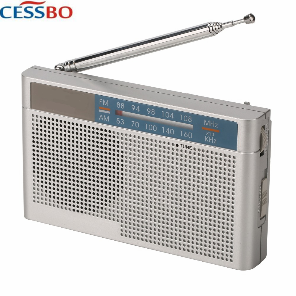 ST-856 Portable Profession FM/AM Radio High Quality Speaker And 3.5mm Earphones Port Wireless Radio Transmitter And Receiver