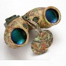 広角 7X50 HD 双眼鏡望遠鏡軍用ナイトビジョンナビゲーション測距コンパス望遠鏡