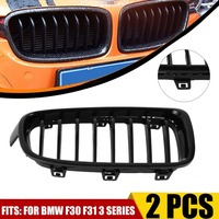 Professional Front Grille Gloss Black Fashion Style Accessory Article Replacement Suitable For BMW F30 F31 3 Series