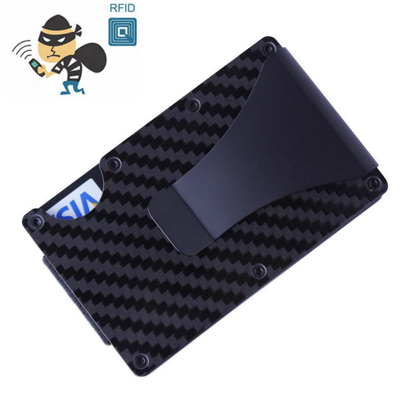 2018 New arrival The Ridge Wallet Carbon Fiber Money Clip Minimalist Front Pocket