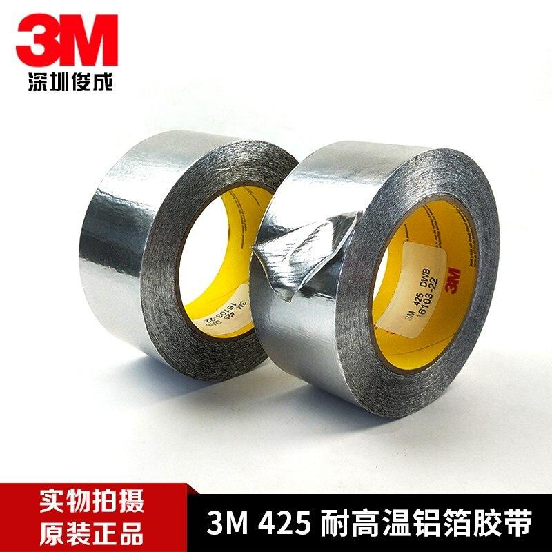 Bande conductrice thermique de papier daluminium 3M425 pour le blindage 50.8 MM * 55 M des composants sensiblesBande conductrice thermique de papier daluminium 3M425 pour le blindage 50.8 MM * 55 M des composants sensibles