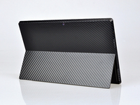 KH Laptop Carbon Fiber Crocodile Snake Leather Sticker Skin Cover Guard Protector For Microsoft Surface Pro