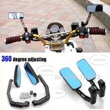 Мотоцикл зеркало заднего вида мотоцикла алюминиевый стержень 360 изменение мотоцикл специальный сторона зеркало заднего вида регулировки