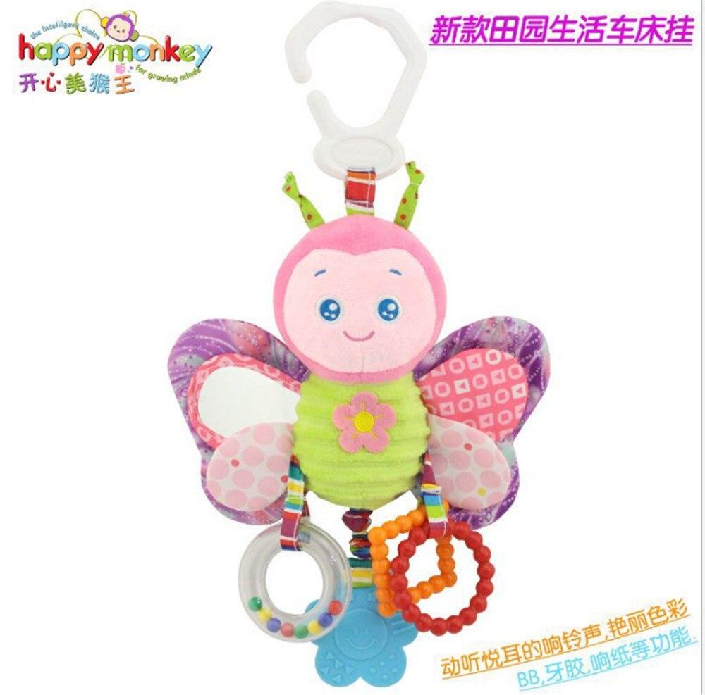 Happy Monkey bebé campanilla neonatal bebé juguetes con campana BB - Juguetes para niños - foto 5