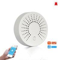 Smart Wifi Feuer Alarm Rauch Sensor Drahtlose Rauchmelder für Automatisierung Home Security Alarm System Smart leben Tuya Smart APP