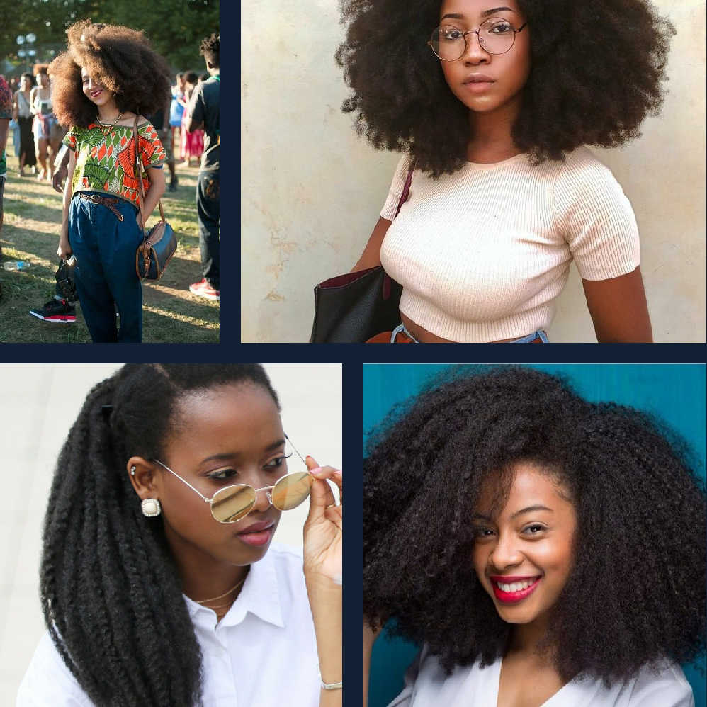 Yxcheris Bob Marley Braids Hair Soft Afro Hair Kinky Curly Natural Hair Style Synthetic Braiding Hair Crochet Braids Marley Braids Aliexpress