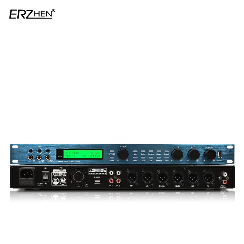 Sound processor GTX6 effect control processing enhanced version