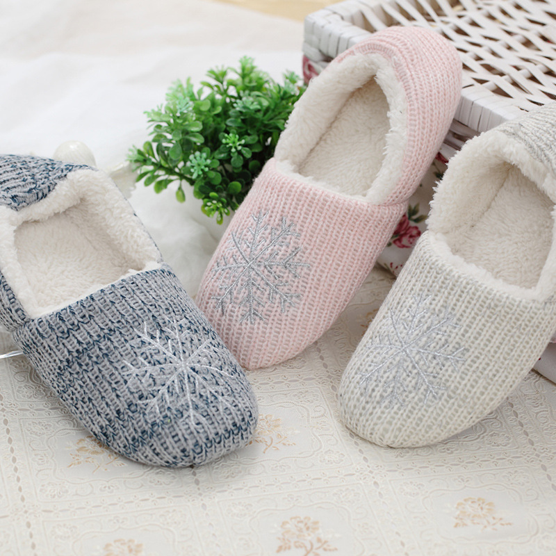 2017 Women Winter Warm Ful Slippers Women Slippers Cotton Sheep Lovers Home Soft Slippers Indoor Plush Size House Shoes Woman какую видеокамеру купить за 30000 70000 ful hd