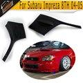 Alta qualidade PU Front Bumper Side Canto Avental Dianteiro Do Carro lip splitter para subaru impreza 2004 2005 fit padrão Bumper