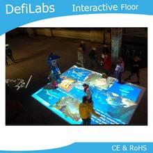 DefiLabs DEFI авторское право Интерактивная напольная проекционная система для свадьбы, рекламы, детей 130 различных эффектов