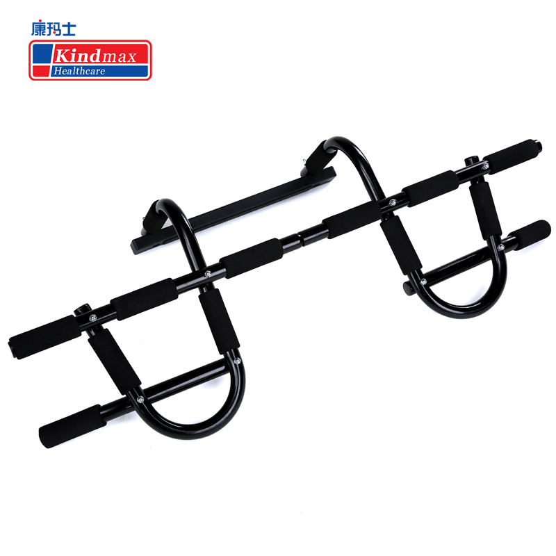 Kindmax Multi function Pull Up Bar Door Home Gym Horizontal Bar Chin Up Bicep Blaster Total Upper Body Workout Fitness Exercise - 5