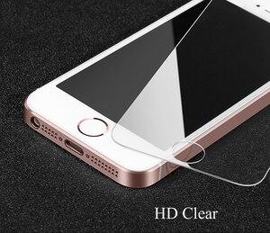 Image 5 - RONICAN なし指紋プレミアム強化ガラススクリーンプロテクター iphone 5 5C すりガラス保護フィルム iphone 5s 、 se