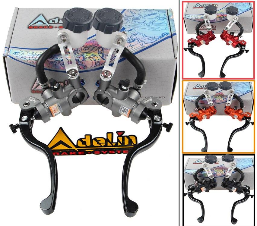 Adelin Pompa freno PX1 moto Radiale cilindro maestro leva frizione universale 16mm 17.5mm 19mm Per Yamaha Kawasaki Suzuki