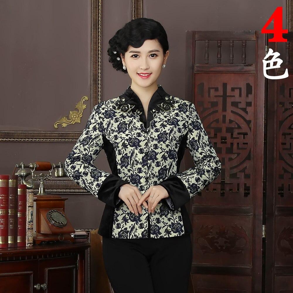 Nueva Llegada de la Alta Calidad Del Estilo Tradición China Chaquetas Delgado El