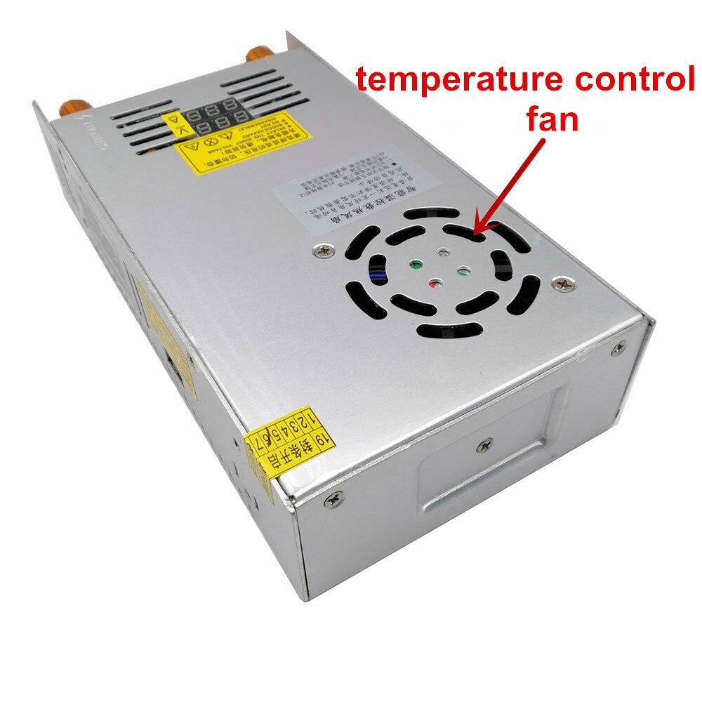 480w Digital display Switching Power Supply 5V12v 24v 36v 48v 60v 160V Adjustable AC-DC Converter 80v 120v 220V LED Power supply-1