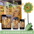 Милый Цветок Дизайн Беспроводной Бэби-Монитор Ip-камеры 720 P Безопасности Ночного Видения Детские Электронная Няня