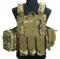 Multi color Tactical military combat vest CS lightweight vest ACU camouflage field Tactical Vest