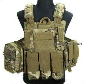 Multi color Tactical military combat vest CS lightweight vest ACU camouflage field Tactical Vest airsoft adults cs field game skeleton warrior skull paintball mask