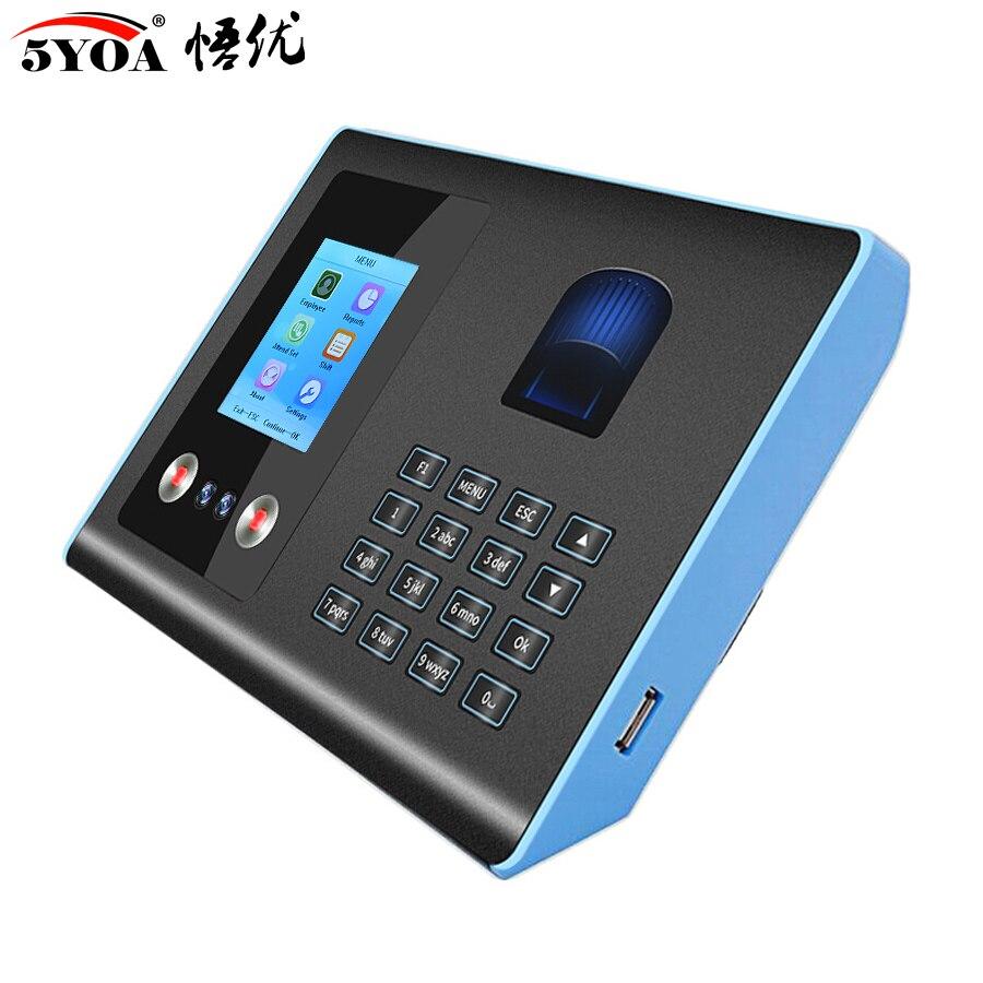 AF01 biométrico cara Facial Reconocimiento de huellas dactilares tiempo asistencia sistema máquina dispositivo máquina