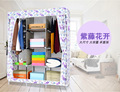 Non-woven Wardrobe Closet Large  Cabinets Simple Folding Reinforcement Receive Stowed Clothes