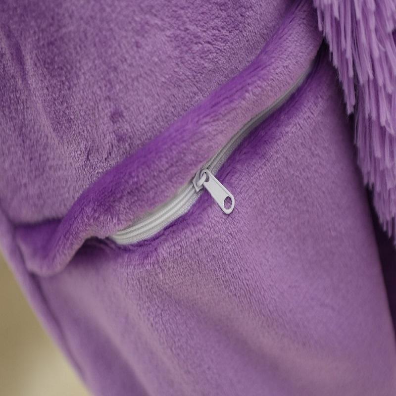 pseewe/единорог стежка панда унисекс фланелевые пижамы взрослых аниме косплей животных пижамы комбинезоны толстовка для для женщин для мужчин