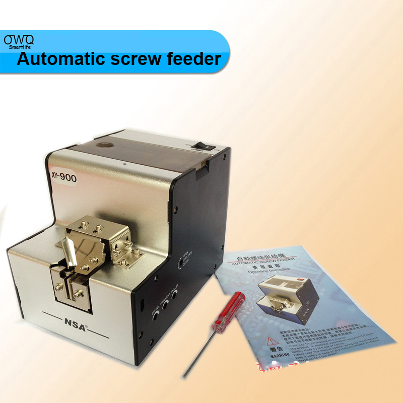 XY-900 Automatic screw feeder,screw dispenser,Screw arrange/ feeding machine,screw counter 1.0-5.0mm Adjustable 1pc  цены