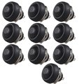 EE support 10 Pcs 12mm Waterproof Mini Round Momentary Push Button Switch Car Styling  XY01