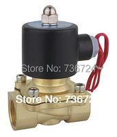 1/2'' Solenoid Valve water Brass 2 Way Valve Oil Gas Valves DC12V DC24V AC110V or AC220V