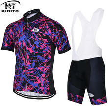 KIDITOKT Herbt Pro Rock Bicycle Wear Maillot Cycling Clothing Ropa Ciclismo MTB Bike uniform Cycle shirt Racing Cycling Jerseys