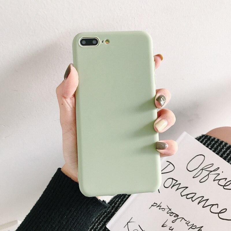 Pour OPPO A3S F9 Pro F5 Plus Youth A73 A83 étui doux couleur bonbon uni mat nombreuses couleurs couverture téléphone Mobile sac Coque