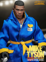 Storm toys 1 6 THE YOUNGEST HEAVYWEIGHT Mike Tyson normal version Sport  verion double head 657e66dcc3f5