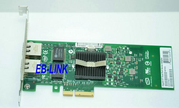 Original Chipset 82575EB 1gbps HL82575T NIC Double Port PCI-E Gigabit Serveur AdaptateurOriginal Chipset 82575EB 1gbps HL82575T NIC Double Port PCI-E Gigabit Serveur Adaptateur