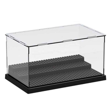 купить 79150 Figures Deluxe Acrylic Collectible Item Building Blocks Display Mini Box Display Case Bricks дешево
