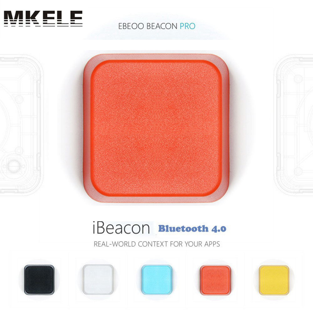 Ibeacon Bluetooth 4.0 waterproof Low Energy kit beacon bluetooth module receiver Proximity Device with Battery
