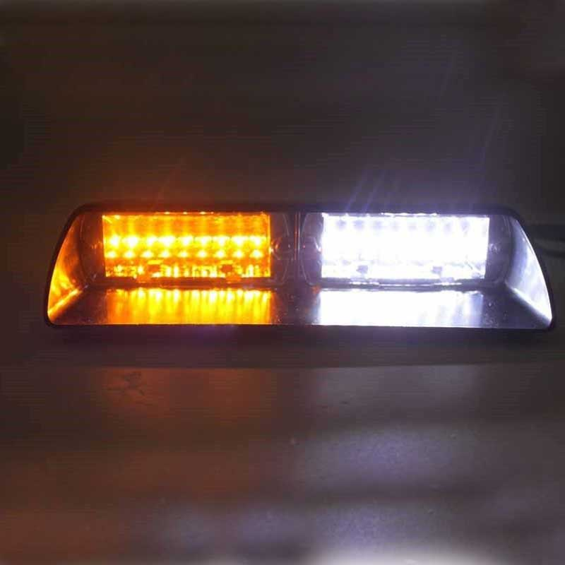96W S2 light 16pcs Led car red blue led in dash   police light/police  warning light car strobe light 96w s2 us f ederal light 16pcs led car red blue led in dash police light police warning light car strobe light