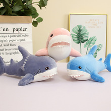 35cm Cute Simulation Shark Doll Soft Plush Toys Stuffed Animal Shark Plush Doll Creative Children Toy Kids Gift super cute 1pc 35cm cartoon creative banana sweet cat plush doll stuffed toy children valentine s day gift